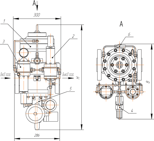 запорный клапан (ПЗК);