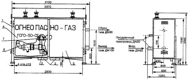 с измерительным комплексом СГ